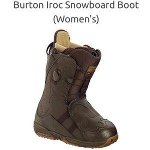 Burton IROC snowboarding boots